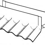 Corrugated Open Ridge