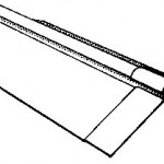 Two-Piece Plain Wing Ridge Cover