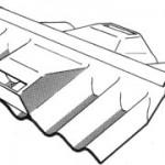 Two-Piece Ventilating Ridge Cover