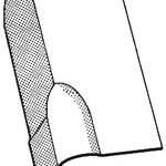 Universal L-Shaped Ridge Finial