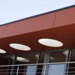SVK colormat facade panels