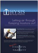 thysis brochure cover